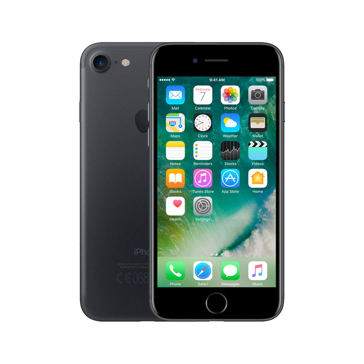 Renewd Apple iPhone 7 Black 128GB